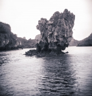 Limestone Pillar, Halong Bay, Vietnam