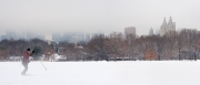 Cross Country Skiing in Central Park